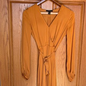 Satin Long maxi dress